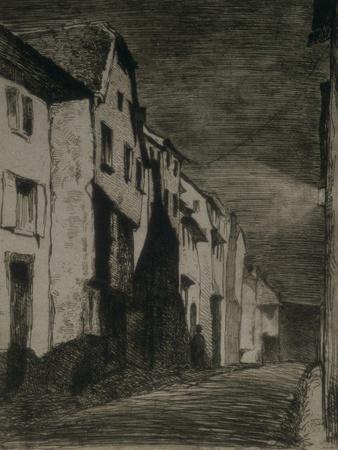Street in Saverne, 1858