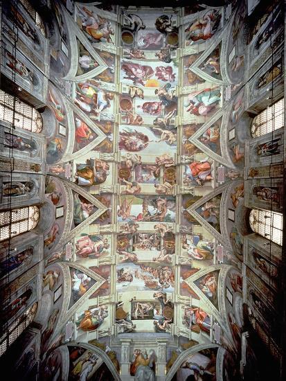 Sistine Chapel Ceiling 1508 12