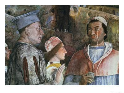 Marchese Ludovico Gonzaga III of Mantua Greeting His Son Cardinal Francesco Gonzaga