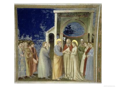 The Marriage of the Virgin, circa 1305