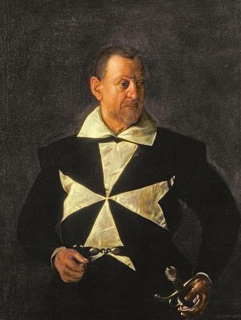 Portrait of a Knight of Malta, Possibly Fra Antonio Martelli, 1607-08