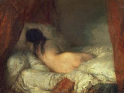 Reclining Female Nude, circa 1844-45
