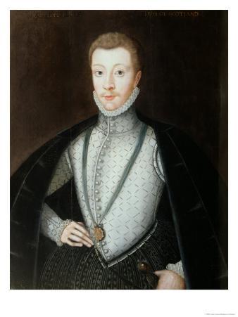 Portrait of Henry Stewart, Earl of Darnley