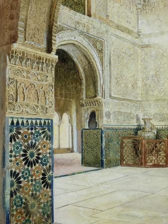 Interior of the Alhambra, Granada