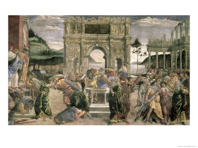 The Punishment of Korah, Dathan and Abiram, 1481