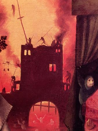 Tondal's Vision, Detail of the Burning Gateway