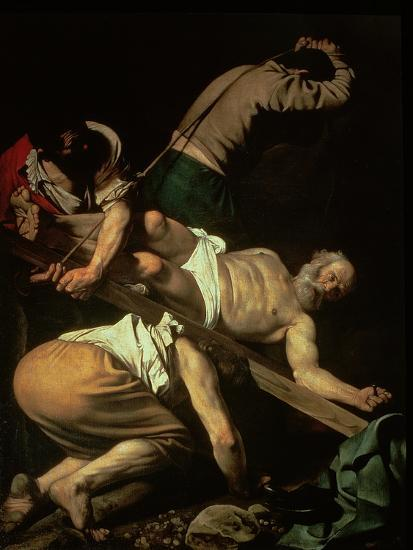 the crucifixion of st peter