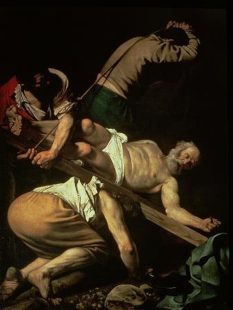 The Crucifixion of St. Peter, 1600-01