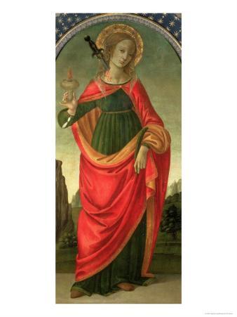St. Lucy, circa 1472-74