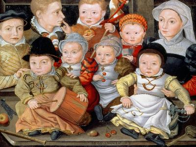 Portrait of a Mother with Her Eight Children, 1565 8914465