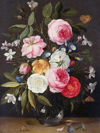 Still Life of Flowers in a Vase, 1661