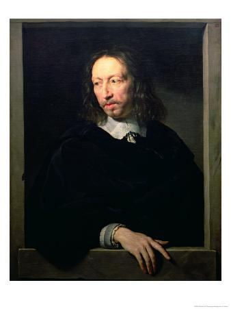 Portrait of a Man, Possibly of Robert Arnauld of Andilly, 1650