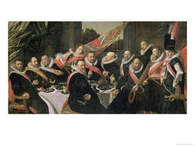 A Banquet of the Officers of the St. George Militia Company, 1616
