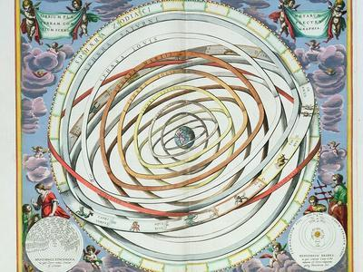 """Planetary Orbits, Plate 18 from """"The Celestial Atlas, or the Harmony of the Universe"""""""