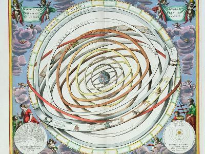 "Planetary Orbits, Plate 18 from ""The Celestial Atlas, or the Harmony of the Universe"""