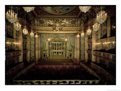 Interior of the Opera House, Completed in 1770