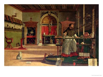 Vision of St. Augustine, 1502-08