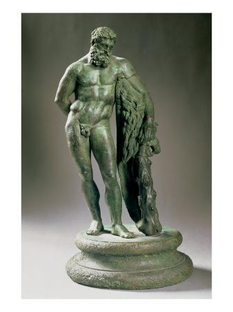 Herakles Resting, a Reduced Copy of an Original by Lysippos Greek, circa 320 BC