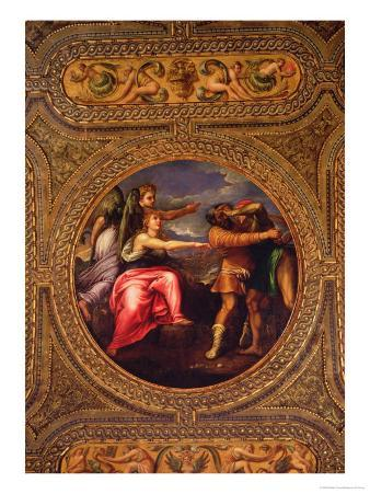 Allegory of Speed, Toil and Exercise, from the Ceiling of the Library