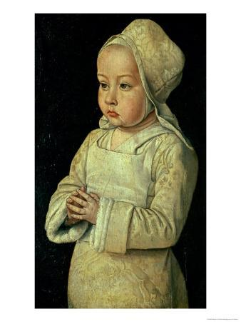 Portrait of Suzanne of Bourbon Daughter of Peter II and Anne of France, Duke and Duchess of Bourbon