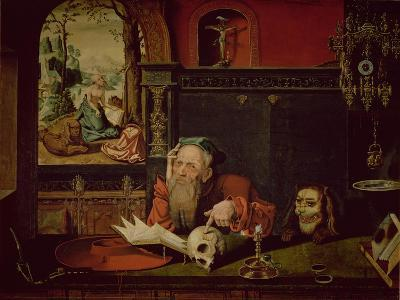 The Meditation of St. Jerome
