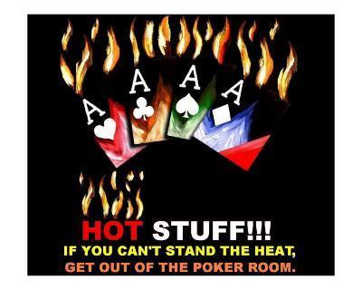 Hot Stuff Poker Sign 1