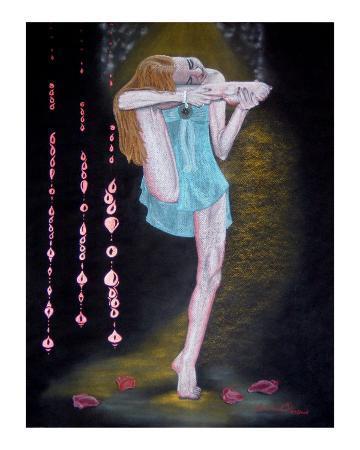 Absorta en mi Yoga