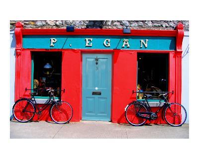 Storefront in Kilbeggan, Ireland