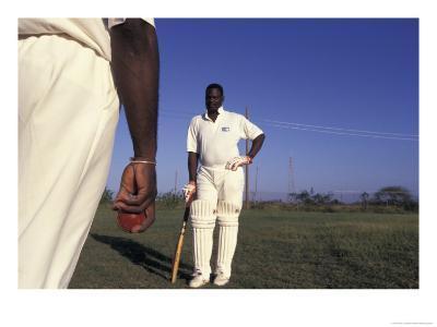 St. John's International Cricket Match, Antigua, Caribbean