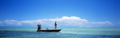 Small Boat Tarpon Fishing, Islamorada, Florida, USA