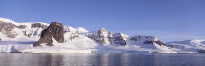 Glaciers and Mountains, Antarctica Peninsula