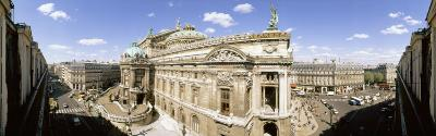 High Angle View of Opera House, Paris, France