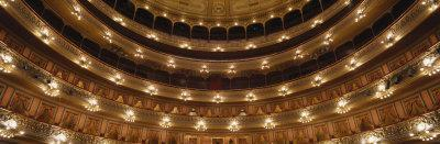 Interior, Landmark, Colon Theater, Buenos Aires, Argentina