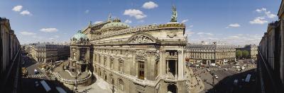 High Angle View of Opera Garnier, Paris, France