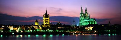 Cityscape at Dusk, Cologne, Germany