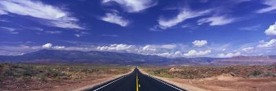 Road Zion National Park, Utah, USA