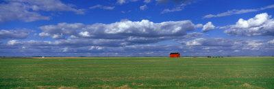 Field and Barn, Saskatchewan, Canada