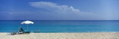 Beach Scene, Nassau, Bahamas