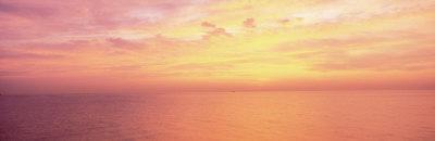 Sunrise, Lake Michigan, Michigan, USA