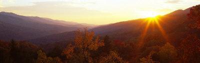 Twilight, Cumberland Gap, Kentucky, USA