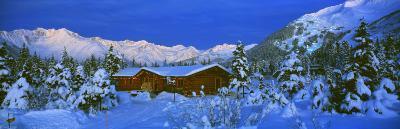 Cabin Mount Alyeska, Alaska, USA