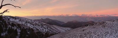 Sunrise, Eastern Sierras, California, USA