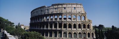 Facade of the Colosseum, Rome, Italy