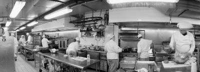 Black and White, Chefs in Kitchen