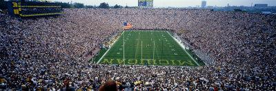 University of Michigan Football Game, Michigan Stadium, Ann Arbor, Michigan, USA
