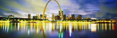 Evening, St. Louis, Missouri, USA