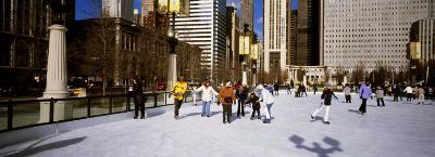 Millennium Park Ice Skating Rink, Chicago, Illinois, USA