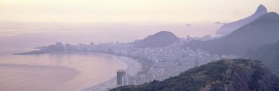 Sunset, Copacabana Beach, Rio De Janeiro, Brazil