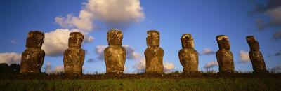 Stone Heads, Easter Islands, Chile