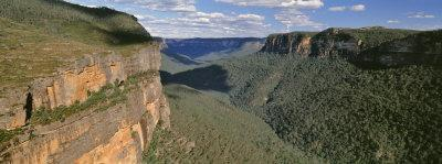 Panoramic View of Valley, Blue Mountains National Park, Australia